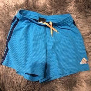 Adidas Blue Athletic Shorts!!